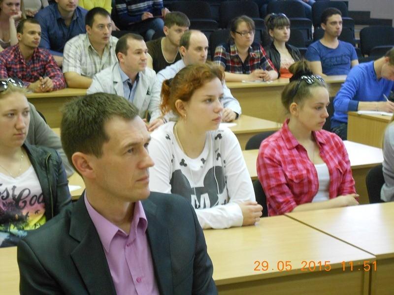 Аудитория УО «ВГТУ»
